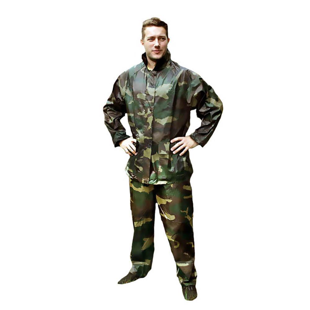 """INBLOOM Костюм прорезиненный """"Камуфляж"""" (штаны и куртка с капюшоном) XXXL,180 мкр."""