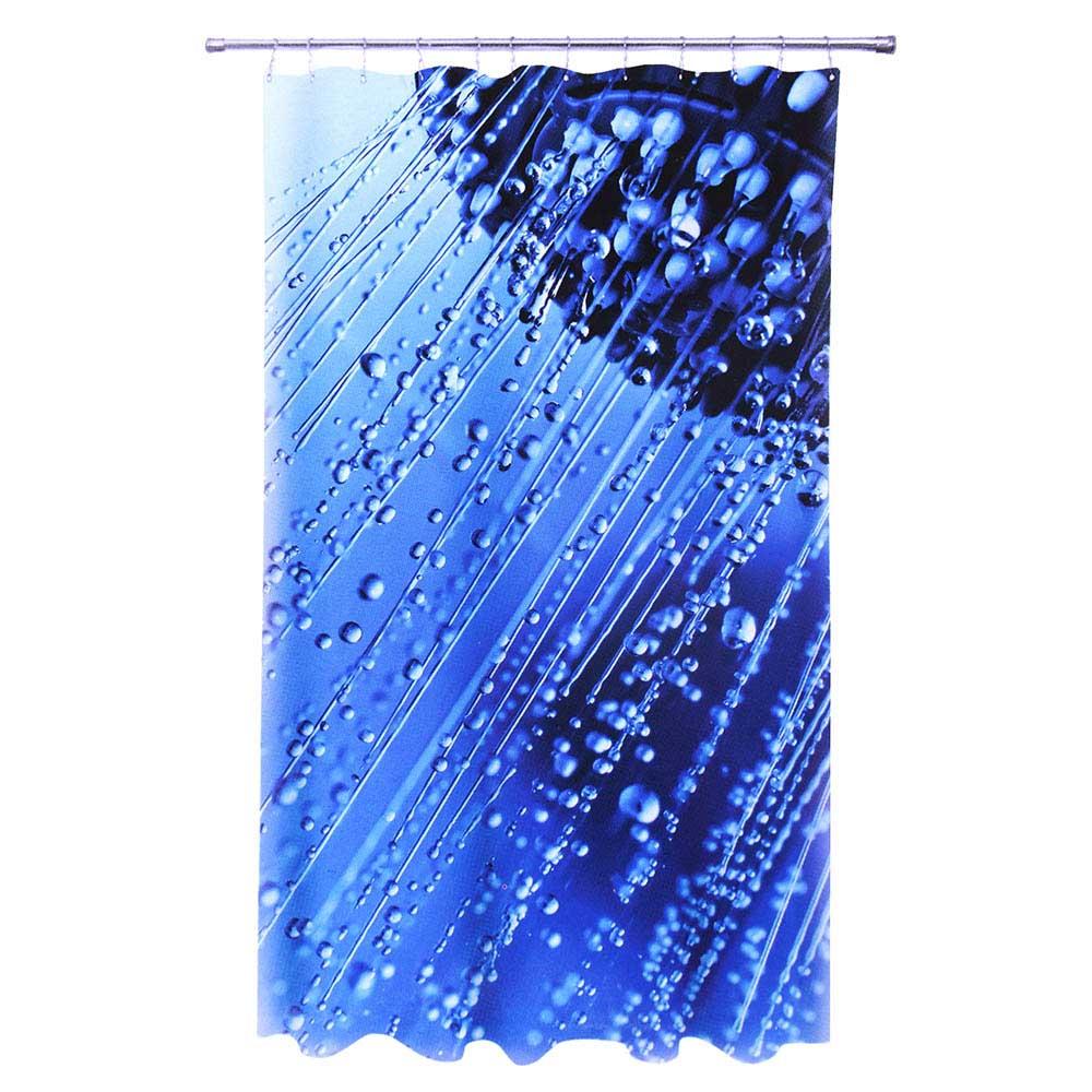 """VETTA Шторка для ванной, ткань полиэстер с утяжелит, 180x180cм, фотопечать, """"Душ"""" Дизайн GC"""