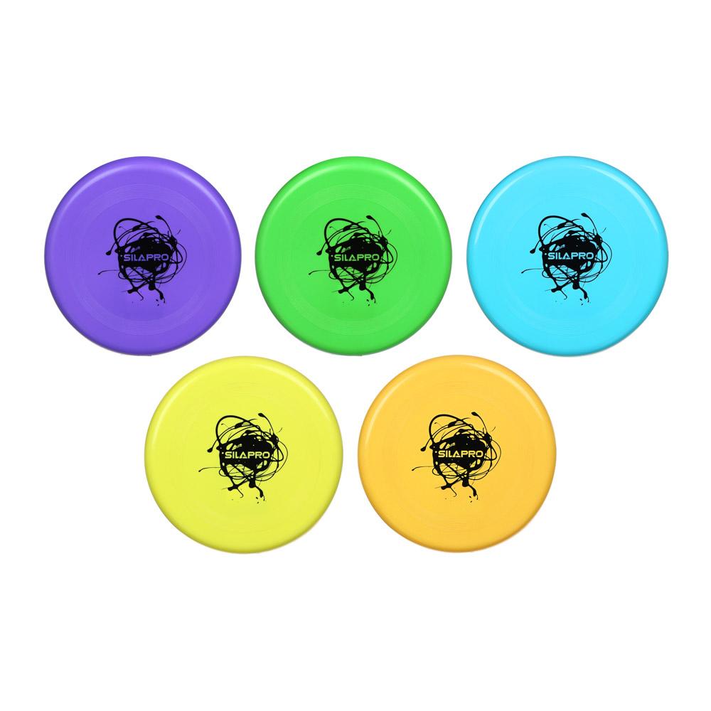 Летающая тарелка, пластик, d 20 см, 4 цвета, арт. NX-062