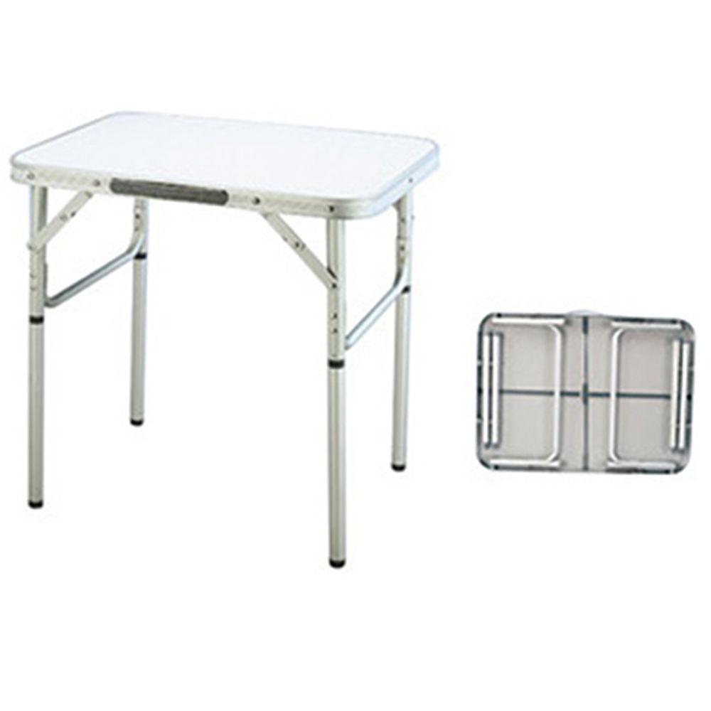 Стол складной Д60xШ45xВ25/60см, МДФ + алюминиевый каркас Ф 25мм, HKTB-1027S