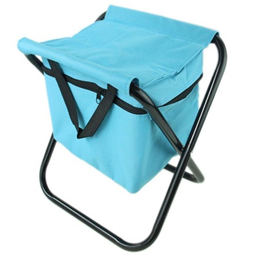 Стул складной с изотермической сумкой для продуктов 600D, 32х27х34см, макс.нагрузка: 120кг