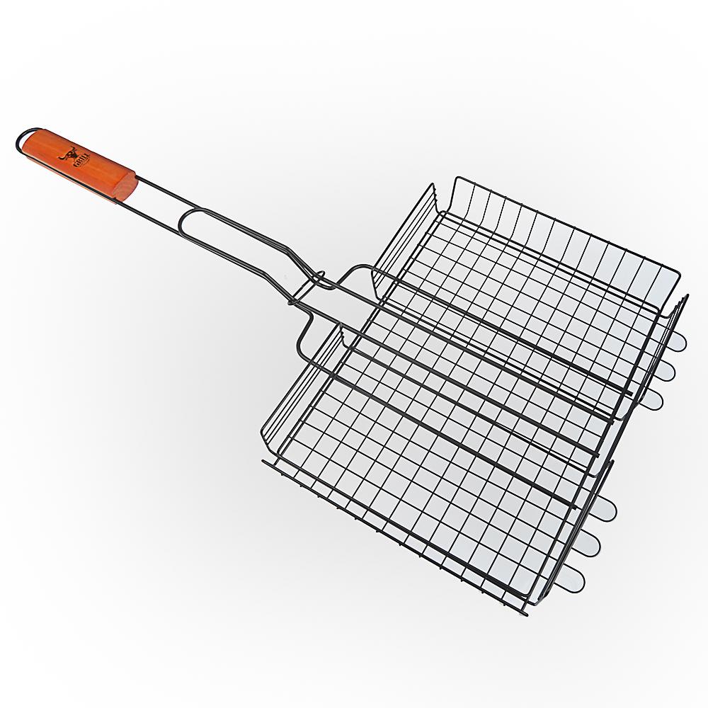 Решетка-гриль антипригарным покрытием 62х(30х24х4) см, GRILLBOOM