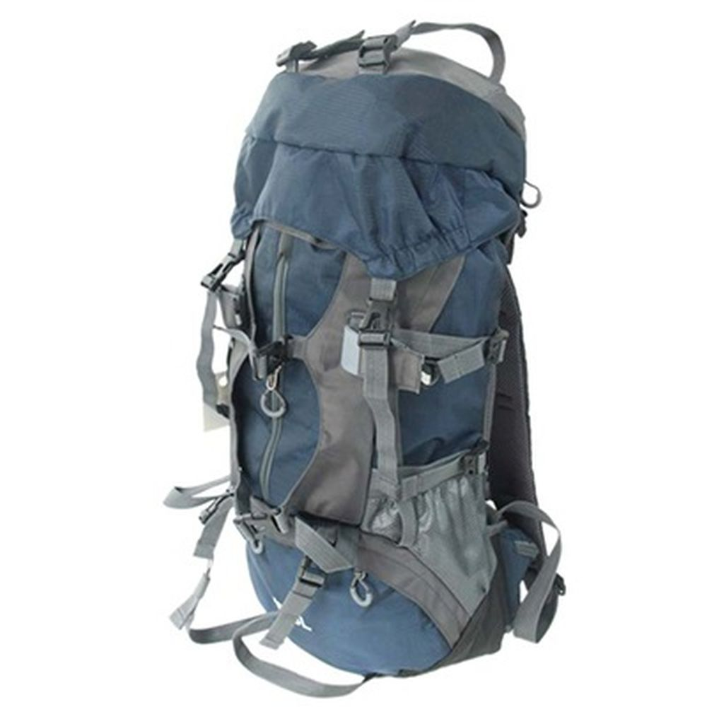 Рюкзак туристический 45+5л, оксфорд 400D, синий