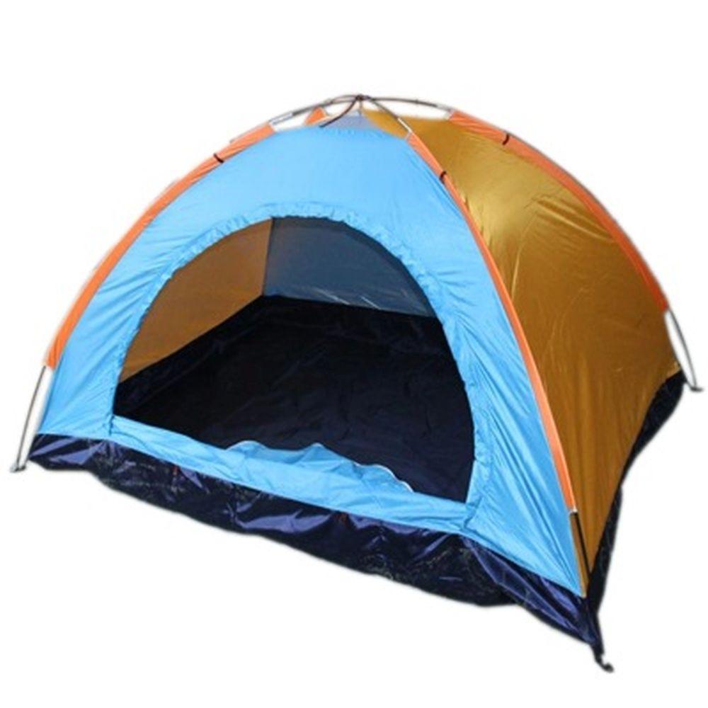 Палатка 2-мест., 1-сл., 2x1,5x1,1м, 170Т нейлон, тр. фб 8мм, дн.170Т, YJZP-21