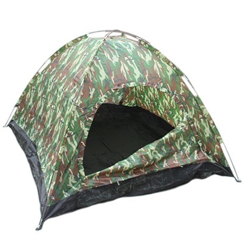 Палатка 3-мест., 1-сл., 2x2x1,3м, 170 Т нейлон, тр. фб 8мм, дн.190Т