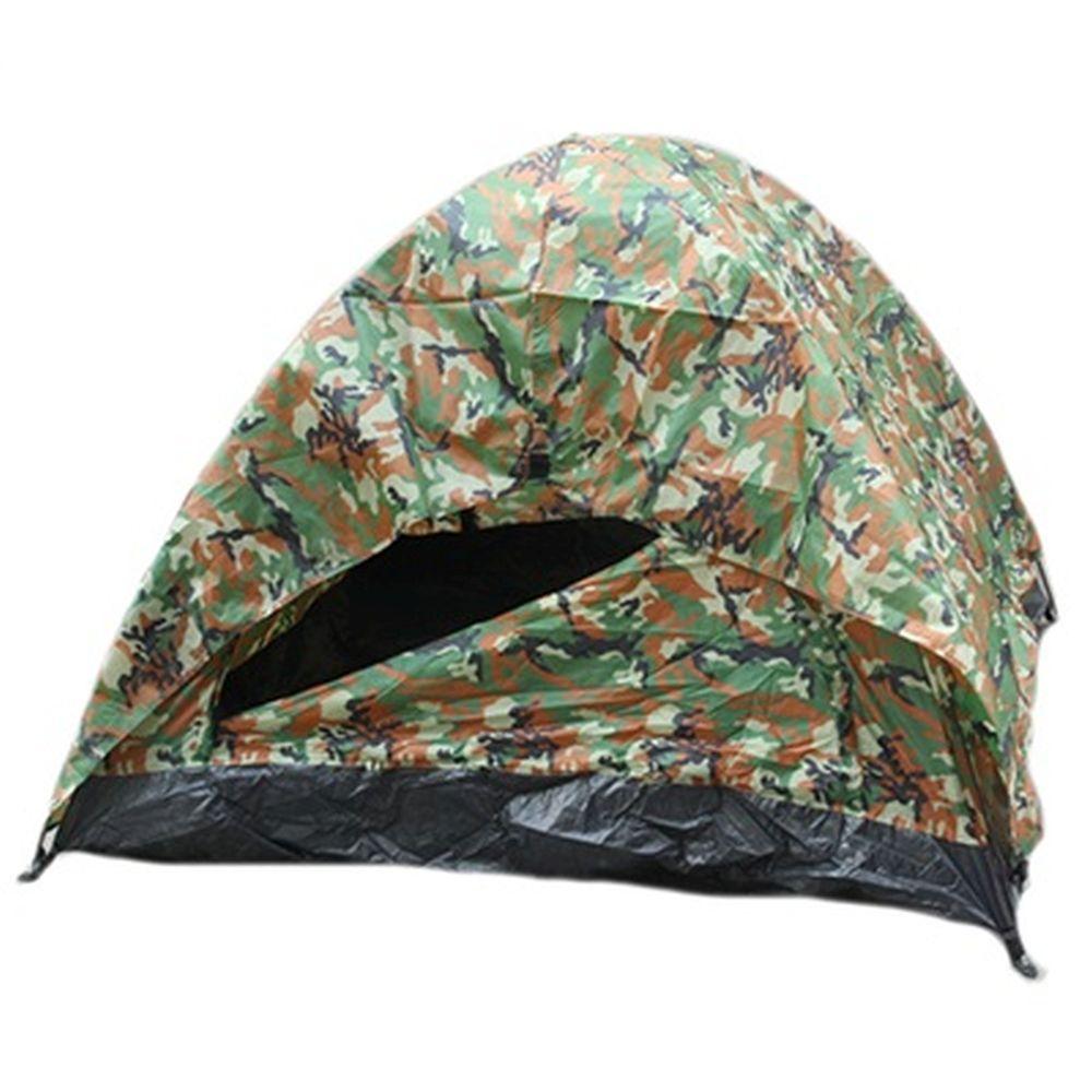 Палатка 3-мест., 2-сл., 2 вх., 2x2x1,1м, 170Т нейлон, YJZP-05