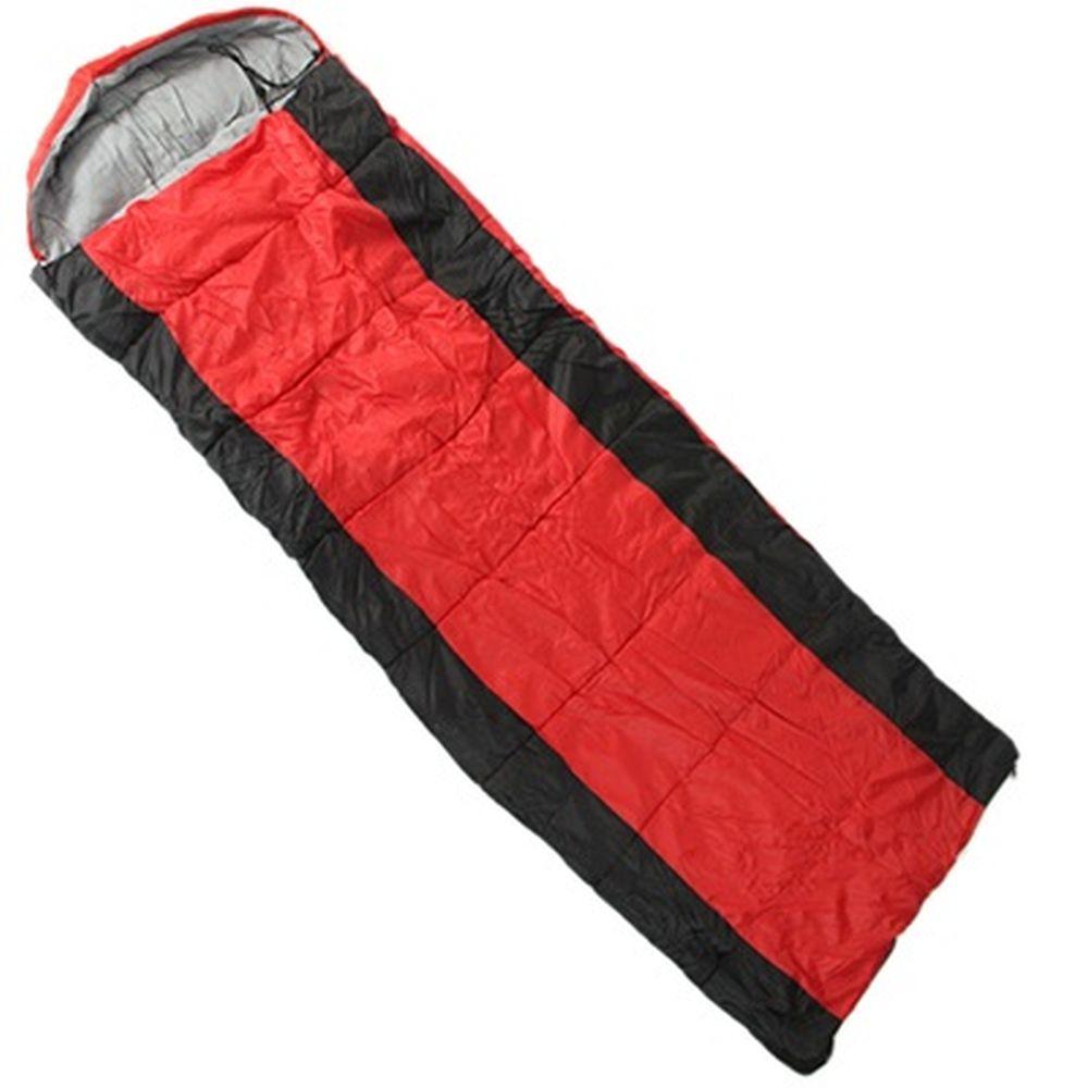 Спальник-кокон 230х75х50см, 190Т w/r pol, х/ф 350г/м, одинарный, t +5/-5