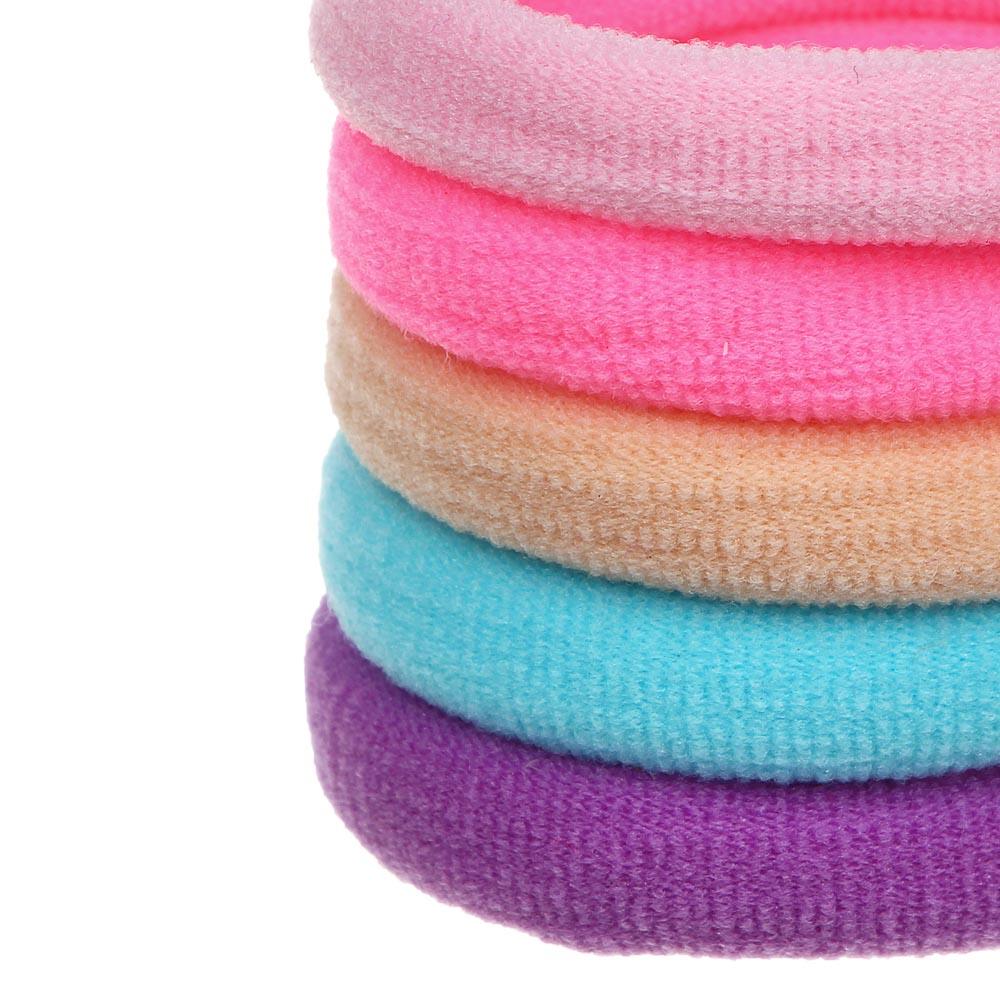 Резинки для волос BERIOTTI, 5 шт, d.5 см