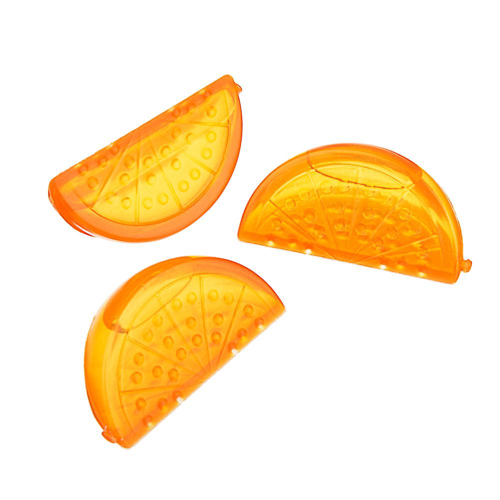 """Лед многоразовый 15 шт в сетке """"Дольки апельсина"""""""