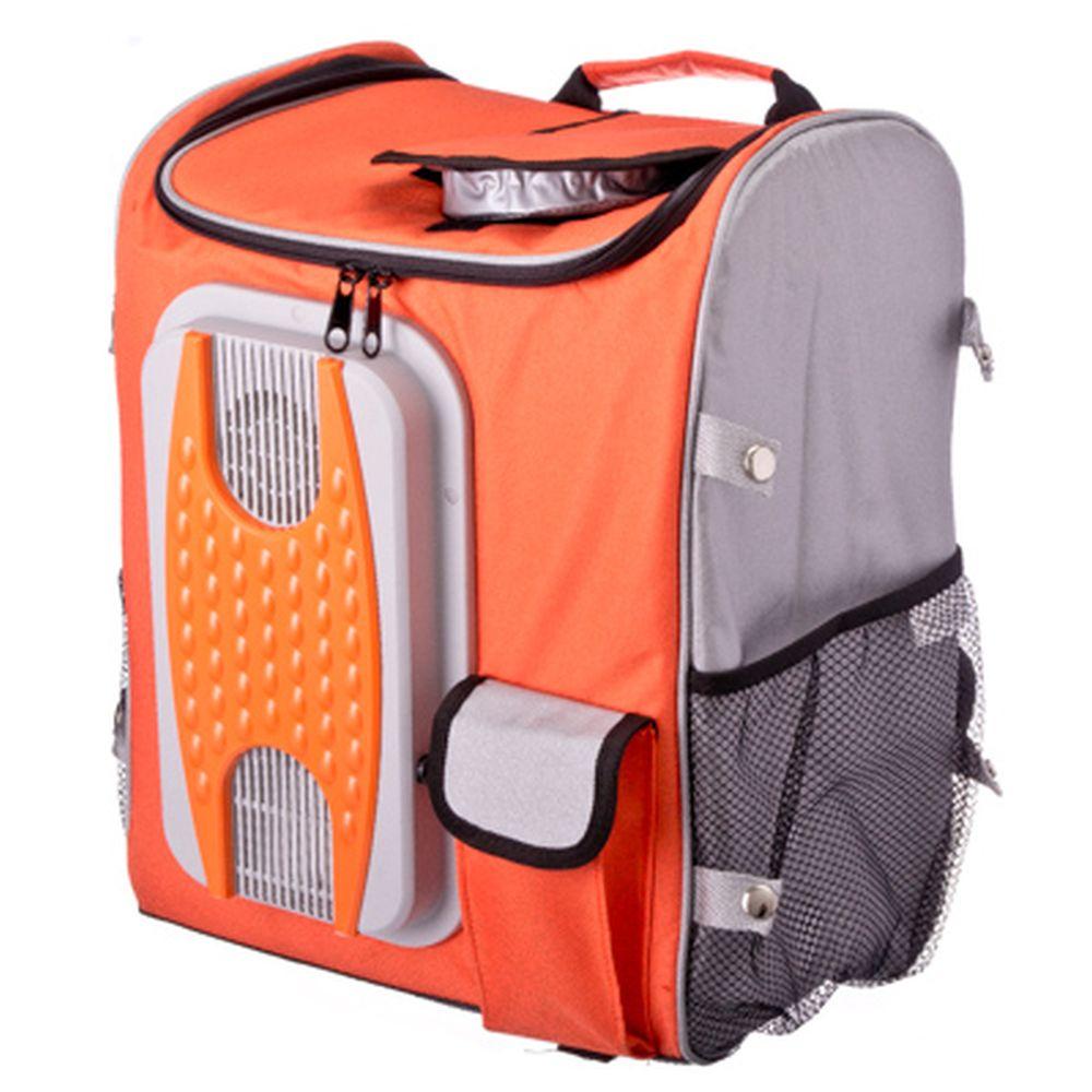 NEW GALAXY Аппарат для охлаждения продуктов автомобильный 40л, 12/220В, сумка-рюкзак
