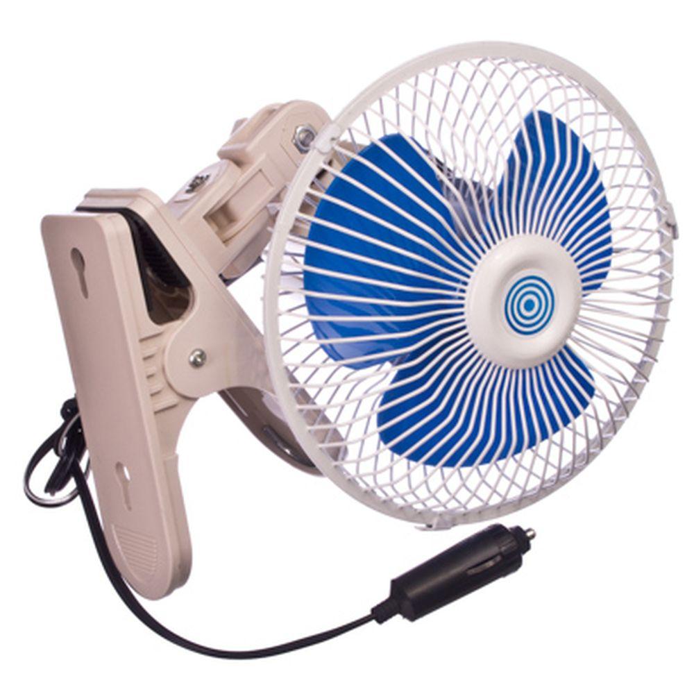NEW GALAXY Вентилятор салона 15см, 12В, на клипсе