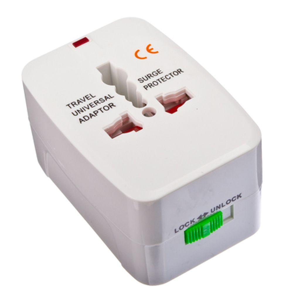Переходник-трансформер сетевой универсальный, белый, DC-A2, 10А