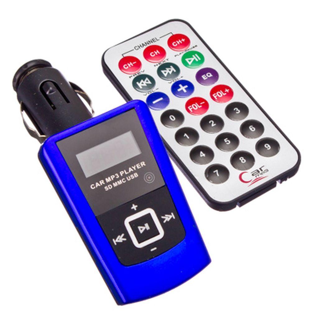 FM модулятор для авто с ПДУ, SD+USB, MP3, 3 цвета, HD87