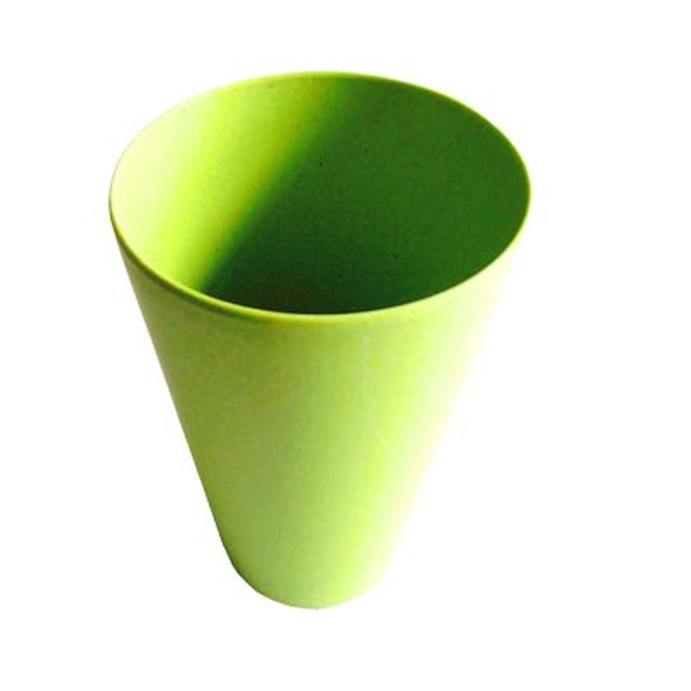 СЛАВЯНА Кружка бамбуковое волокно, 400мл, зеленая, BF20014