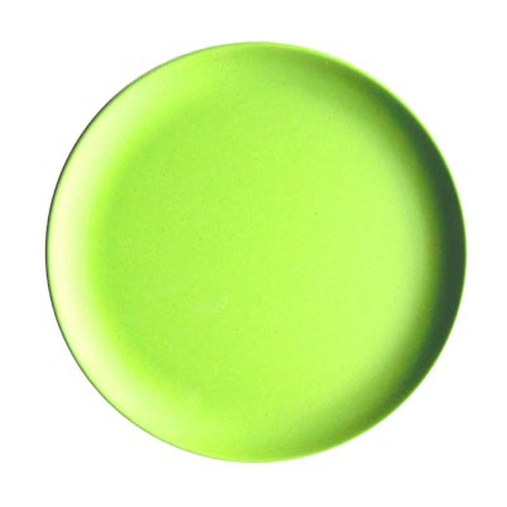 СЛАВЯНА Тарелка подстановочная бамбуковое волокно, 23см, зеленая, BF21234