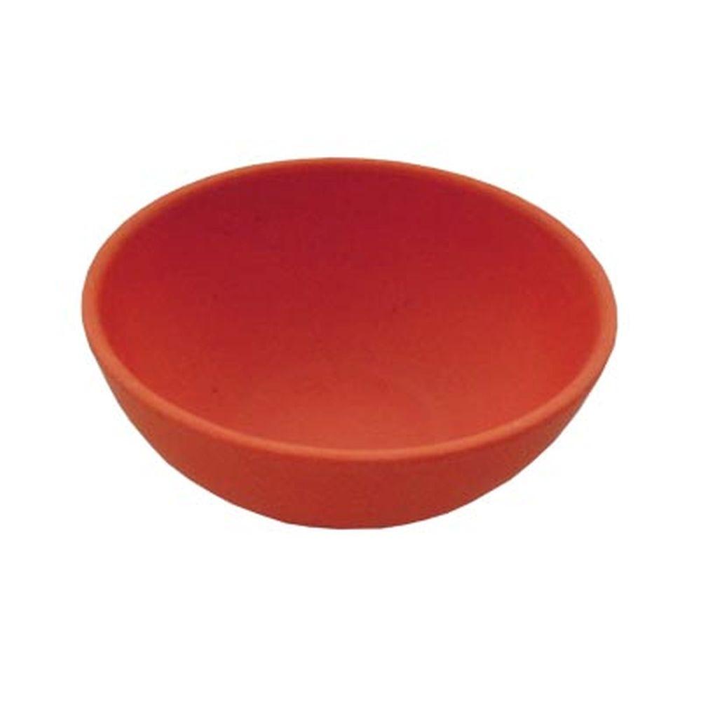 СЛАВЯНА Салатник бамбуковое волокно, 15см, красный, BF20798