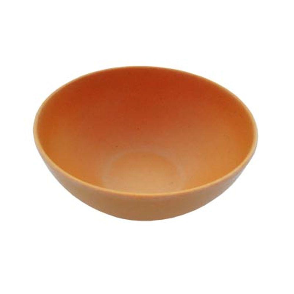СЛАВЯНА Салатник бамбуковое волокно, 15см, оранжевый, BF20798