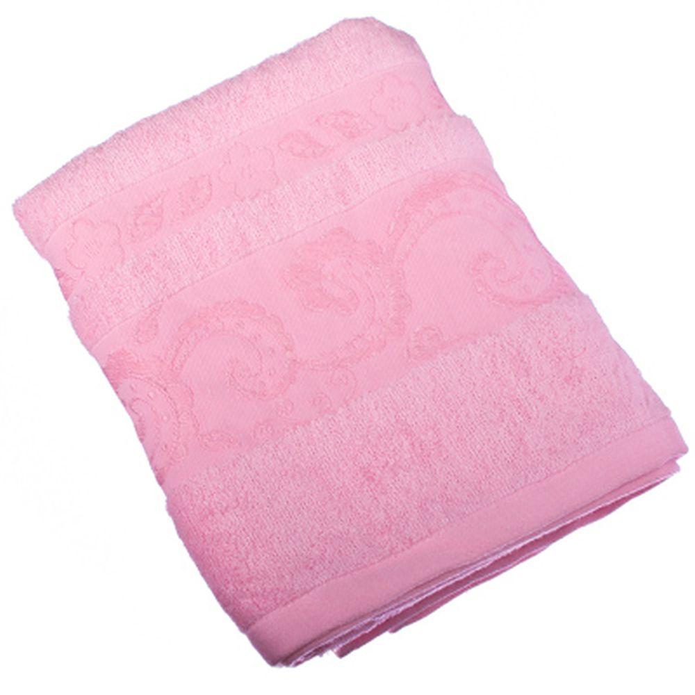 VETTA Полотенце банное, бамбук, 50x90см, Сиена, розовое