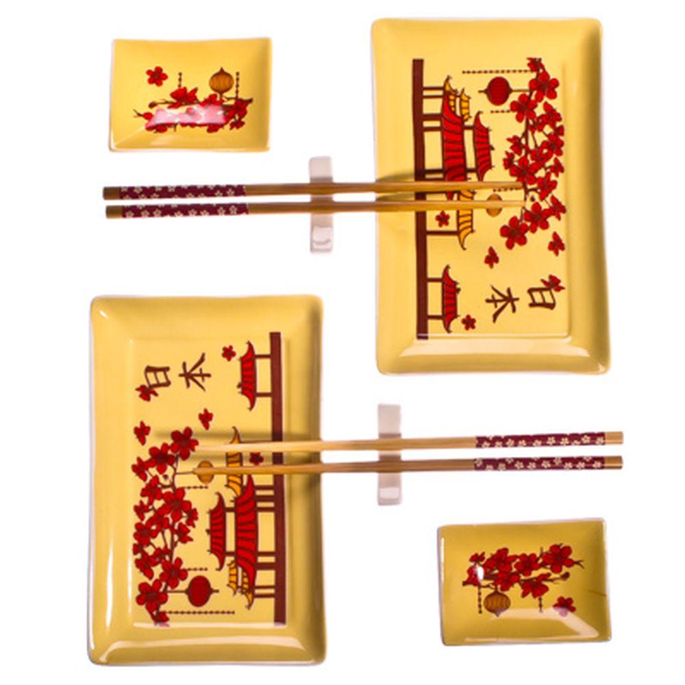 "Набор для суши 8 пр., керамика, ""Пагода"""