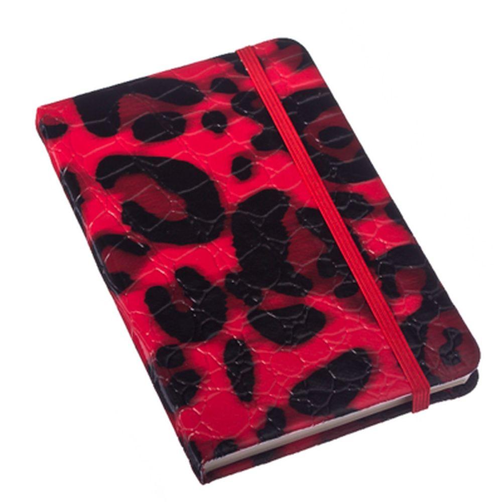 """Блокнот 96 л., """"Leopardino"""", 14,5х9х1,5см, 4 цвета"""