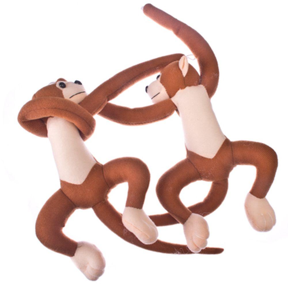"""Набор зажимов 2шт для штор, декоративные, полиэстер, 30х15х4,5см, """"Monkey"""", 3 цвета"""