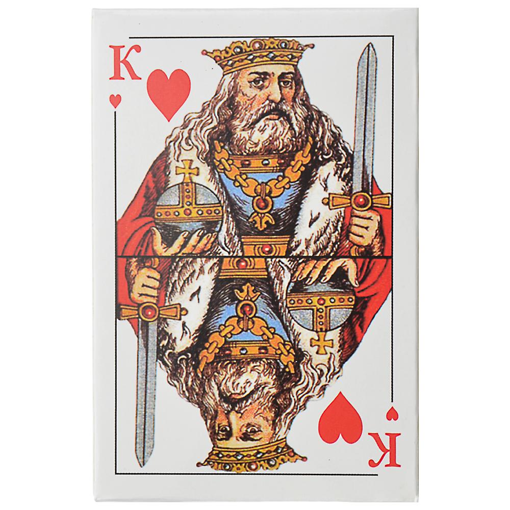 Карты игральные классические, 54 карты, высший сорт, 57х88мм, бумага