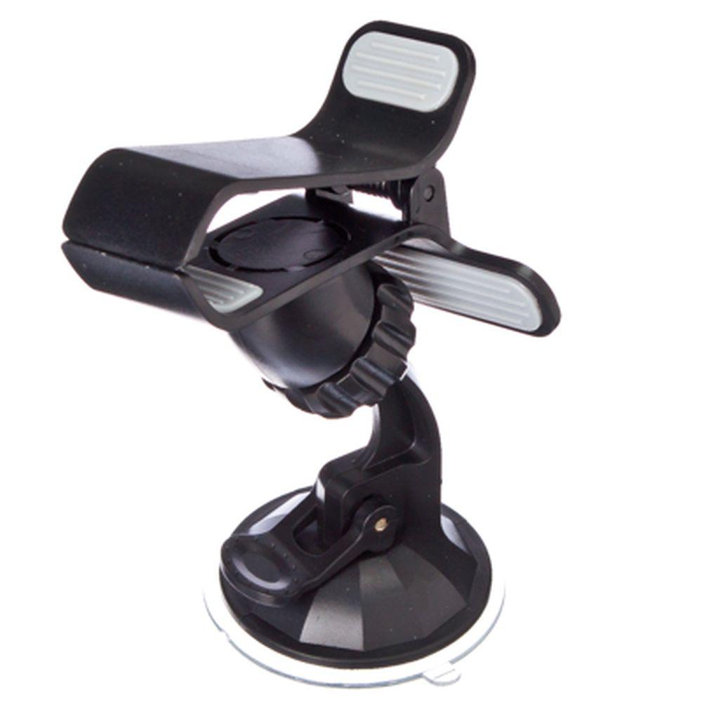 NEW GALAXY Держатель-прищепка смартфонов на присоске универсальный (выс не огранич, шир до 120мм)