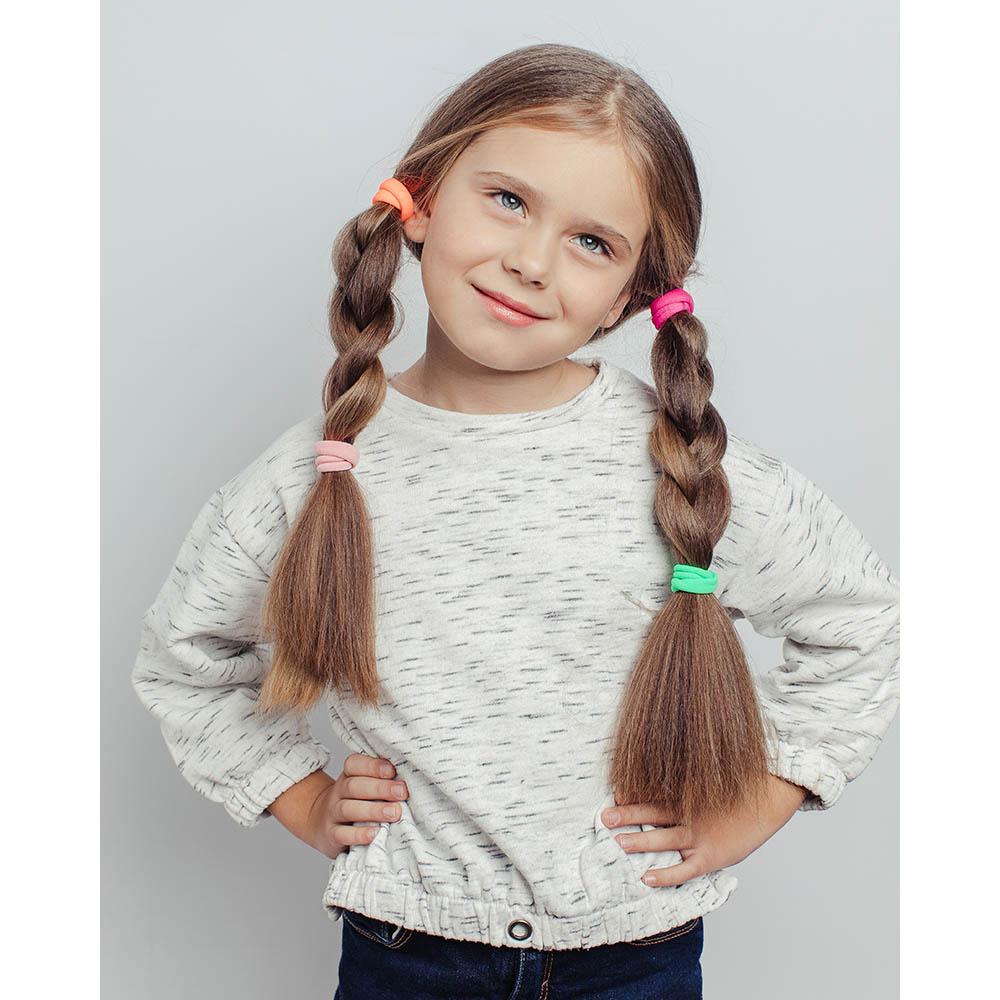 """Набор резинок для волос 4 шт.., полиэстер, d4  см, """"Модница"""""""