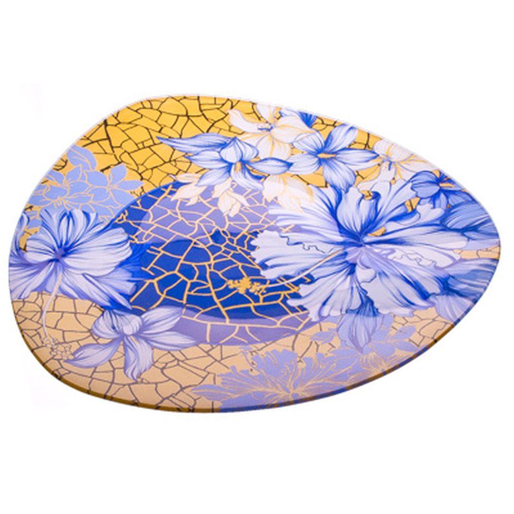 VETTA Наоми Блюдо треугольное стекло, 30см, S330012