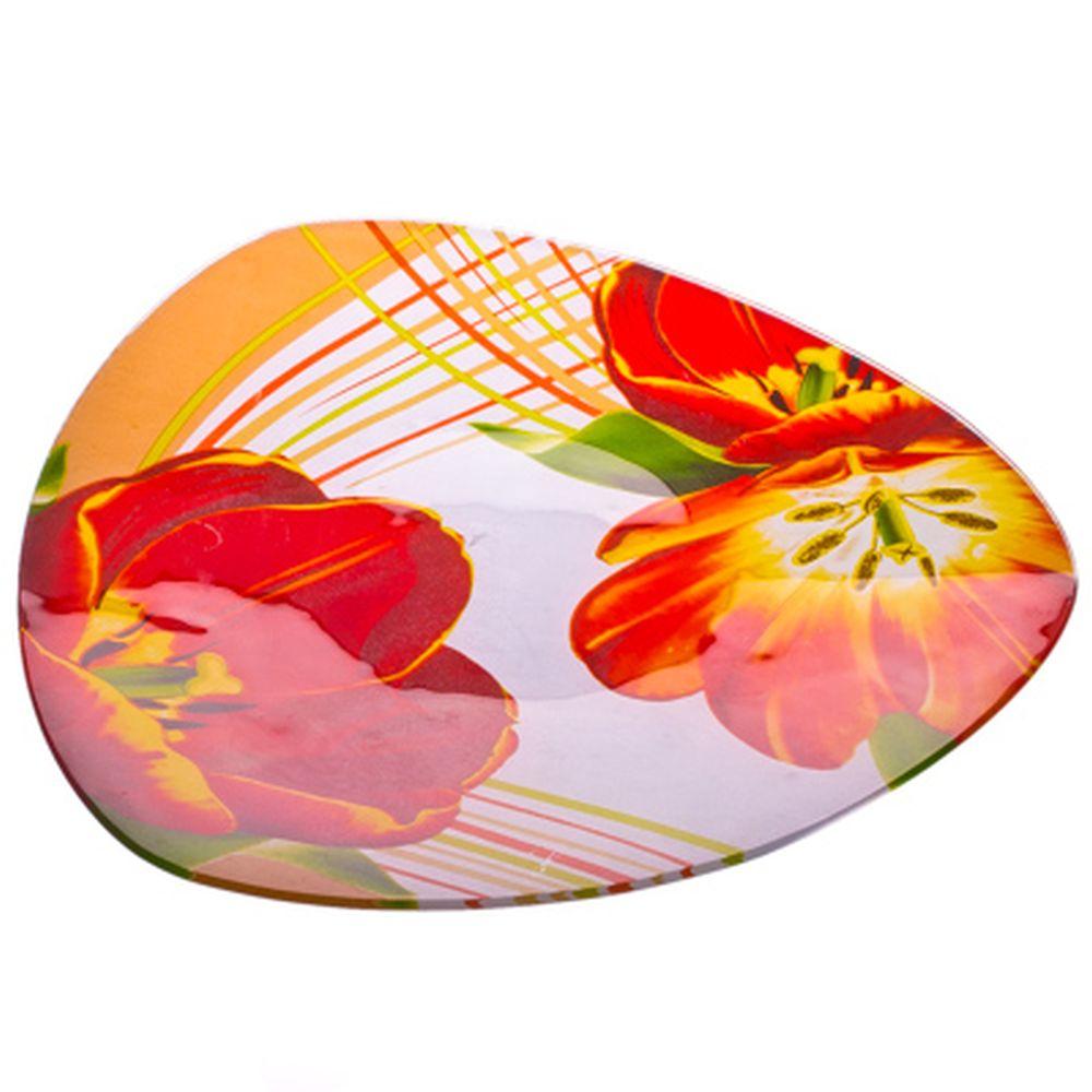 VETTA Моника Блюдо треугольное стекло, 25,4см, S330010
