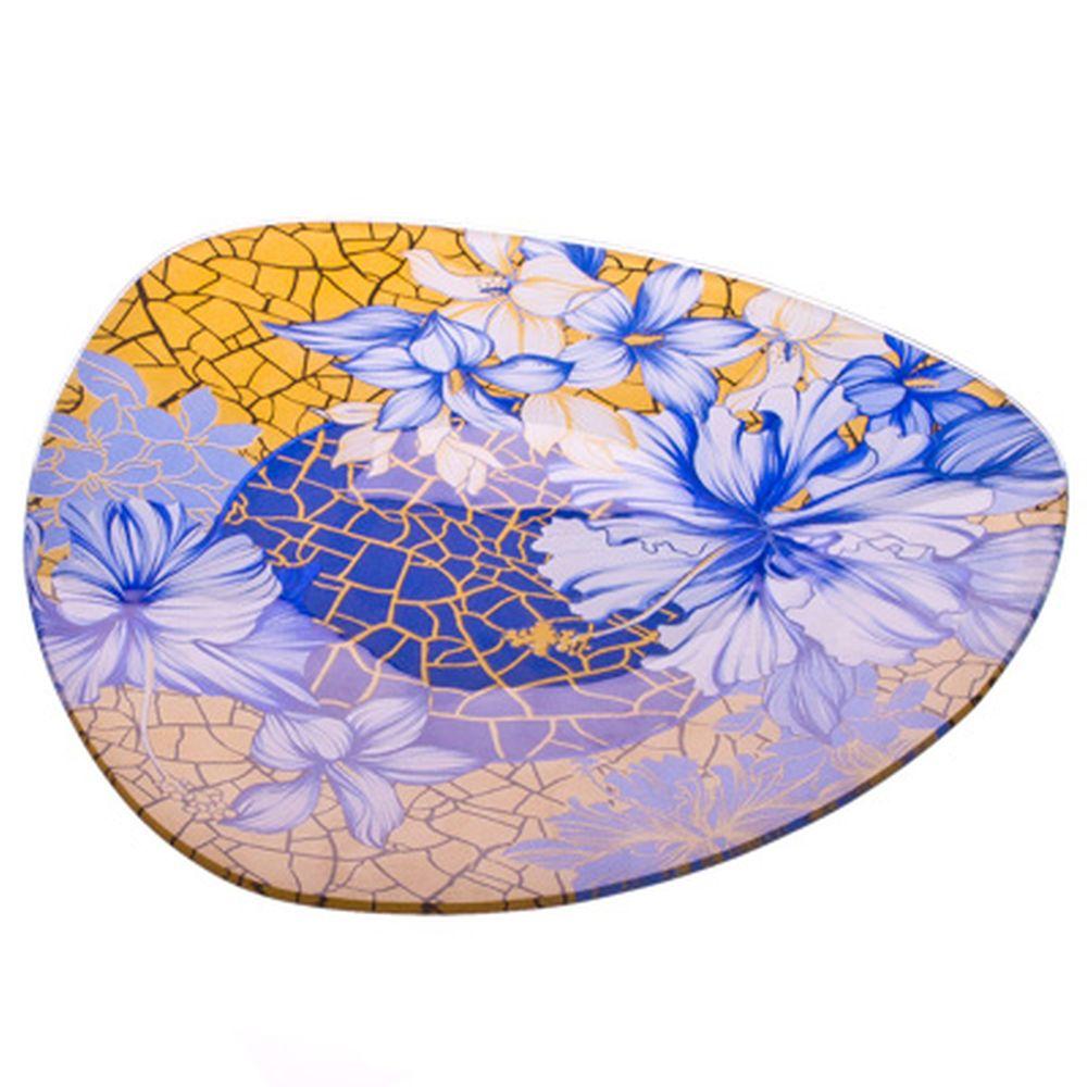 VETTA Наоми Блюдо треугольное стекло, 25,4см, S330010