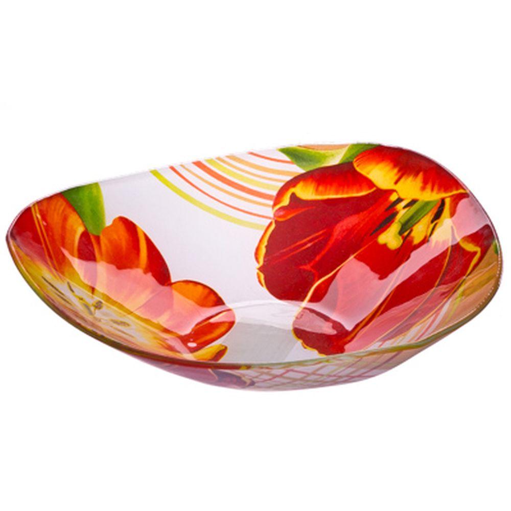 VETTA Моника Салатник треугольный стекло, 25,4см, S332010