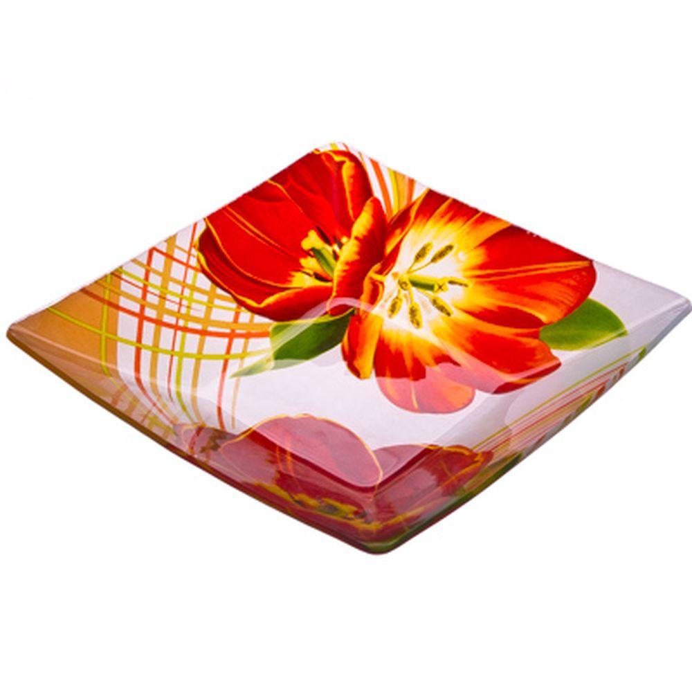 VETTA Моника Салатник квадратный стекло, 20,3см, S312008N