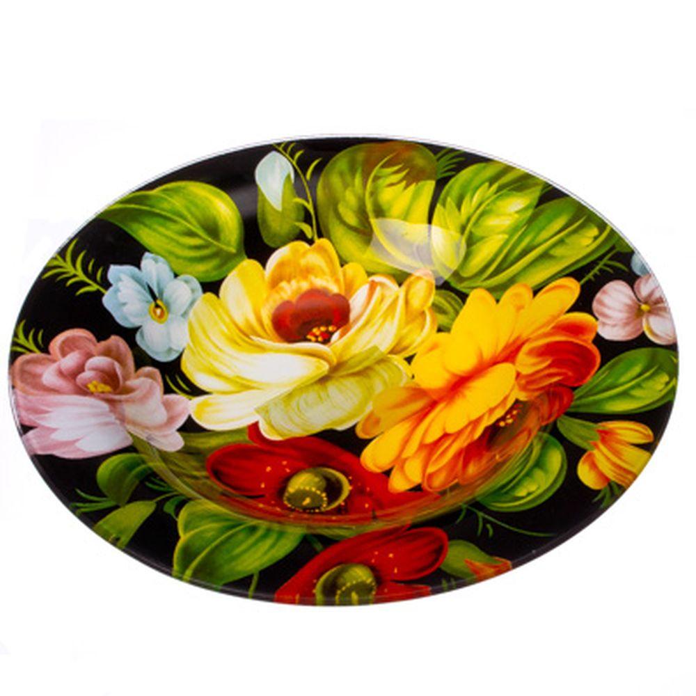VETTA Жостово Тарелка суповая стекло 200 мм S3030-GC001, Дизайн GC