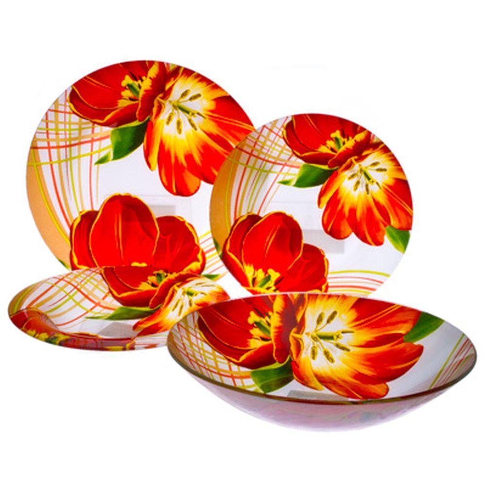 VETTA Моника Набор столовой посуды 19 пр. стекло S3000/19-GC001