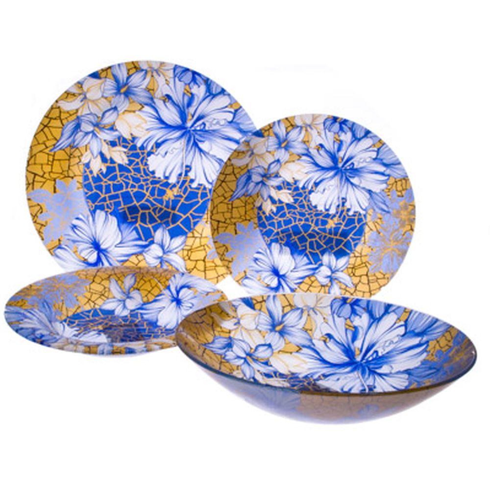 VETTA Наоми Набор столовой посуды 19 пр. стекло S3000/19-GC001