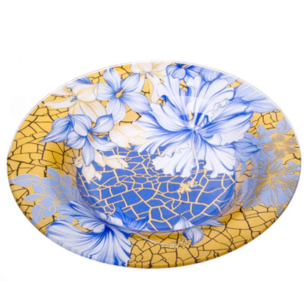 VETTA Наоми Тарелка суповая стекло 200 мм S3030-GC001
