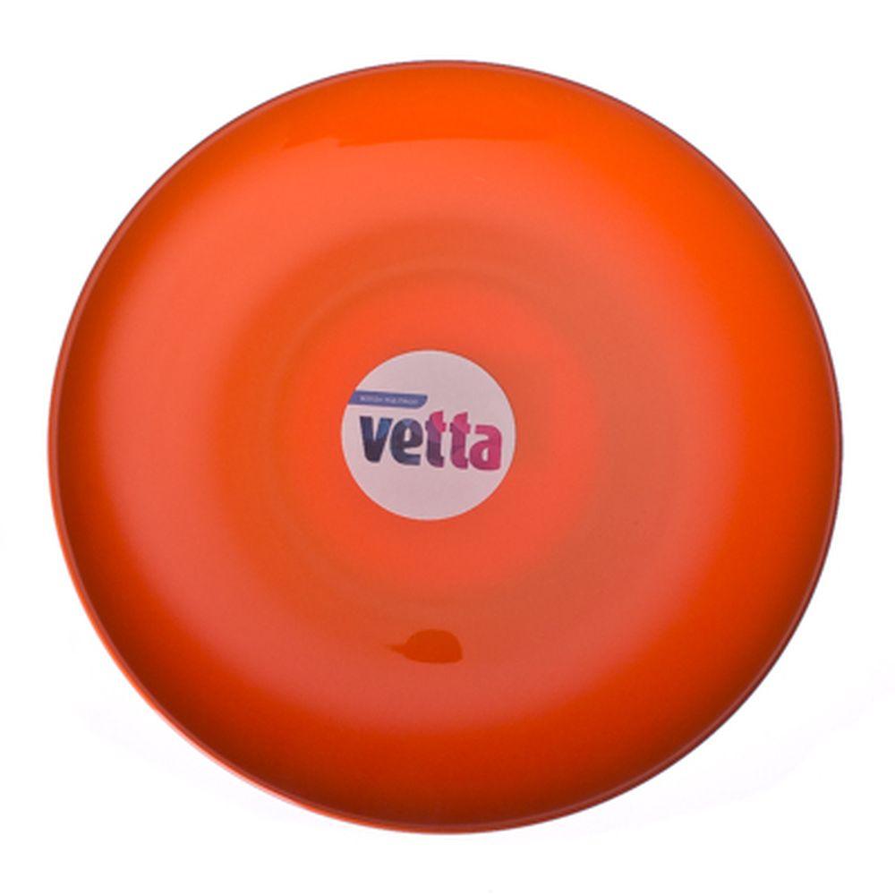 VETTA Тарелка десертная пластик, 20см, оранжевая, SL050177