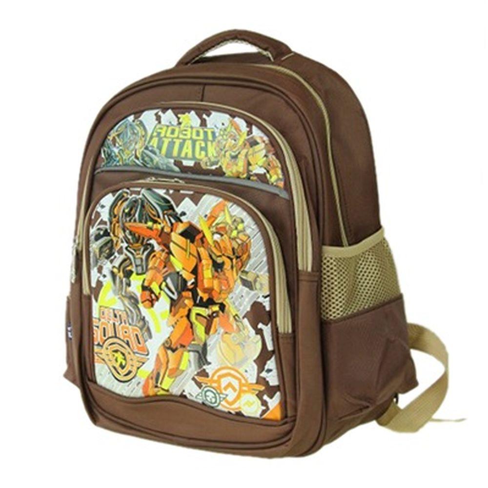"""Рюкзак для мальчиков, полиэстер, 35x29х14см, """"Роботы"""""""