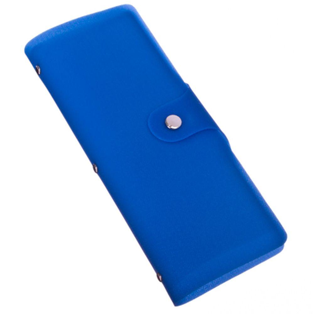 PAVO Визитница 40 вложений, на кнопке, ТПУ, 20х8х1,7см, 5 цветов, CH2014-03