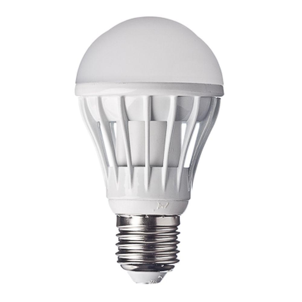 FORZA Лампа светодиодная цоколь E27 LED, 10W, эквив. 100Ватт, 220V, 6500к, 30000h, 11x6см, 20led
