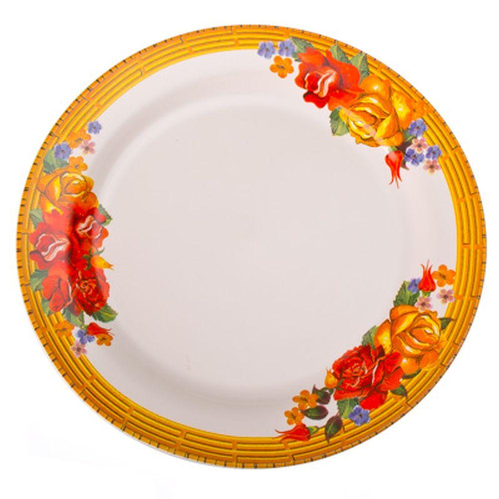 Золотая роза Тарелка десертная 19см, керамика