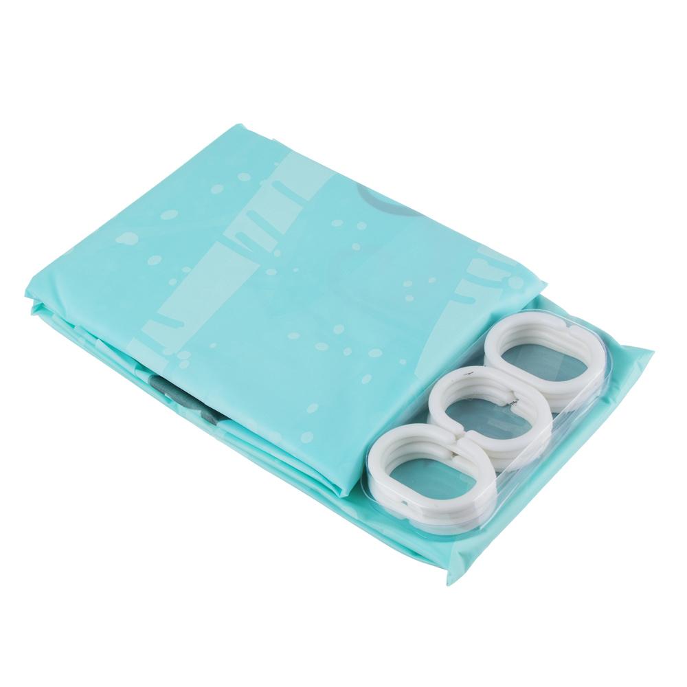 VETTA Шторка для ванной, ПЕВА, 180x200см, арт.002
