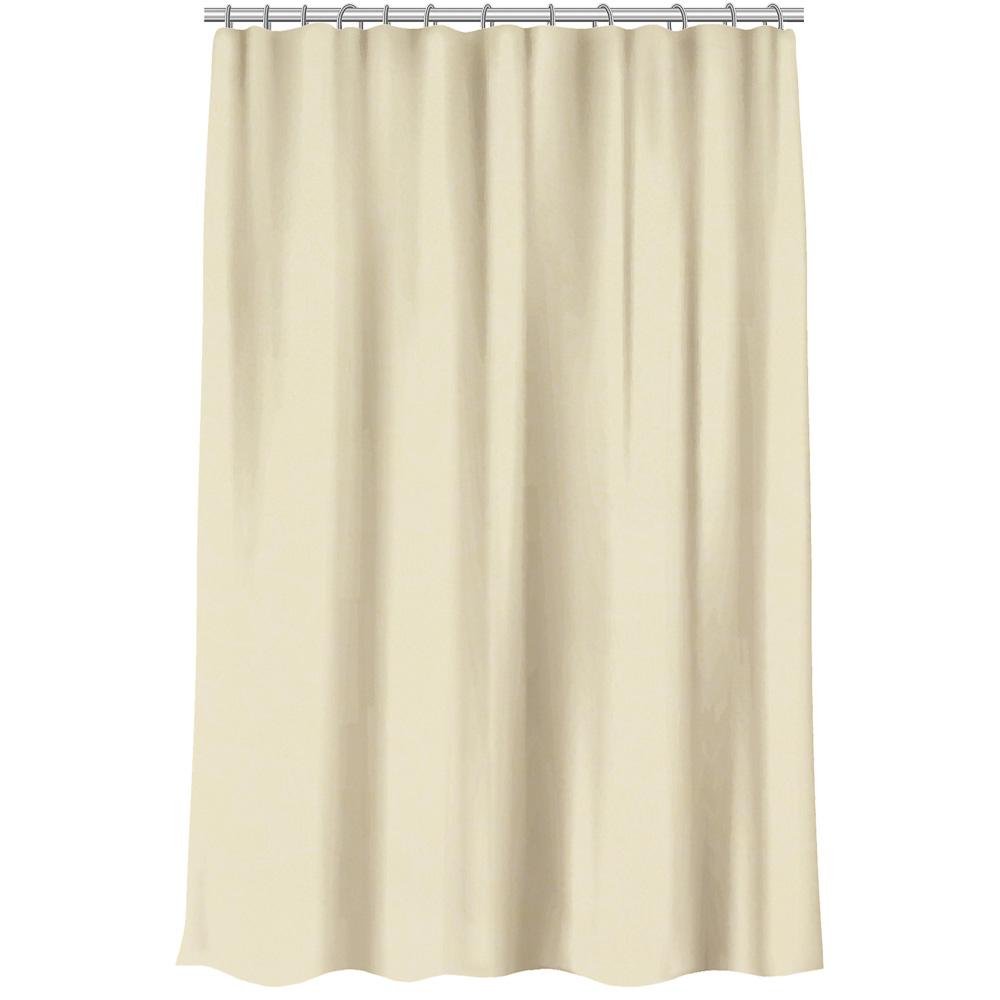 VETTA Шторка для ванной, ПЕВА, 180x200см, одноцветная, 3 цвета