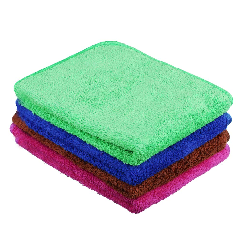 Салфетка для мебели из микрофибры, двухслойная, 30х40 см, 4 цвета, VETTA
