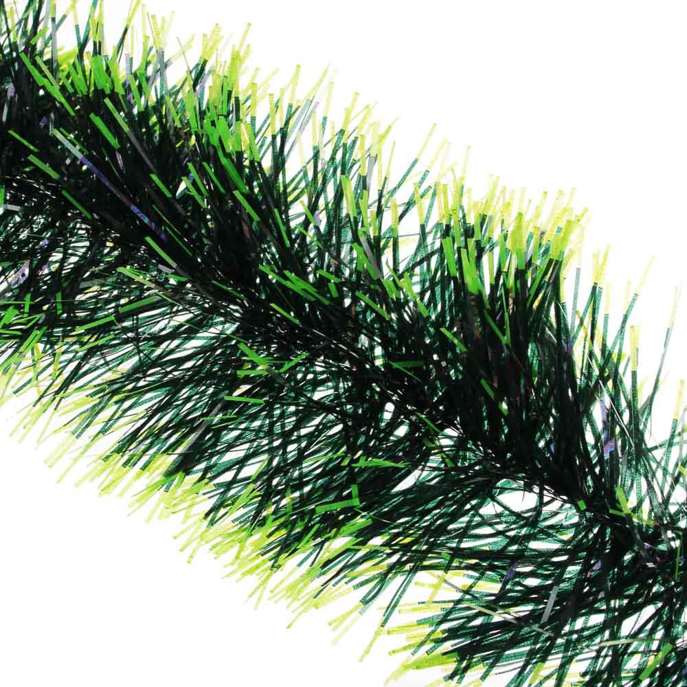 Мишура СНОУ БУМ из фольги, 200x12см, зеленая, SYCOT-042