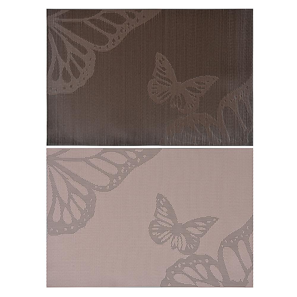 """Салфетка сервировочная ПВХ, 30x45см, """"Полет бабочки"""", 2 цвета"""