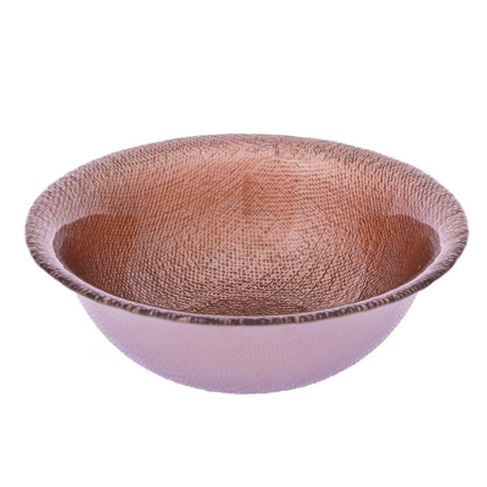 ARDA Cotton Салатник коричневый стекло 180мм