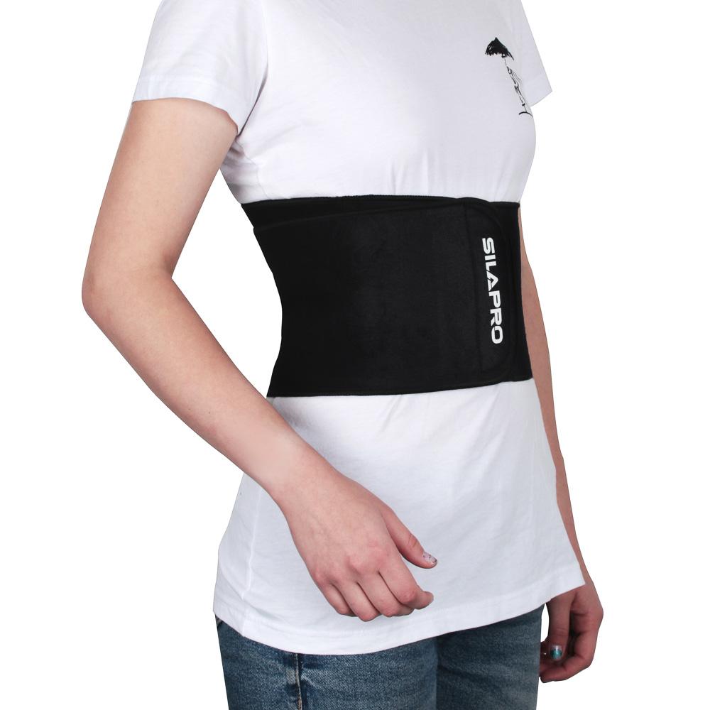 Пояс для похудения на липучке, неопрен, полиэстер, 106х16 см, SILAPRO