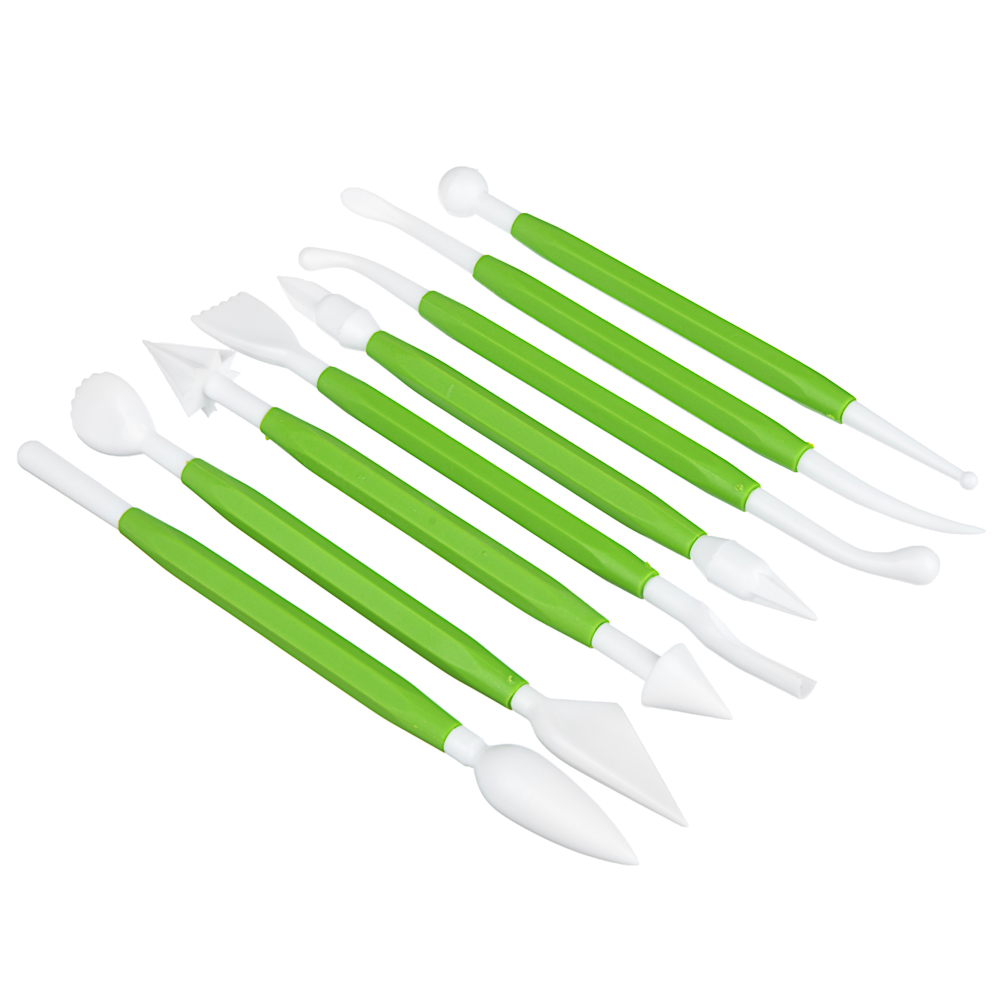 Набор кулинарный 8 предметов для декорирования, пластик